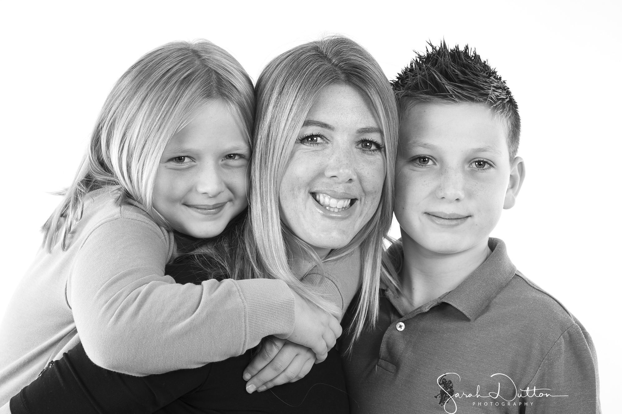 Family and Baby Photography taken in the Photography studio in Whitchurch Hampshire