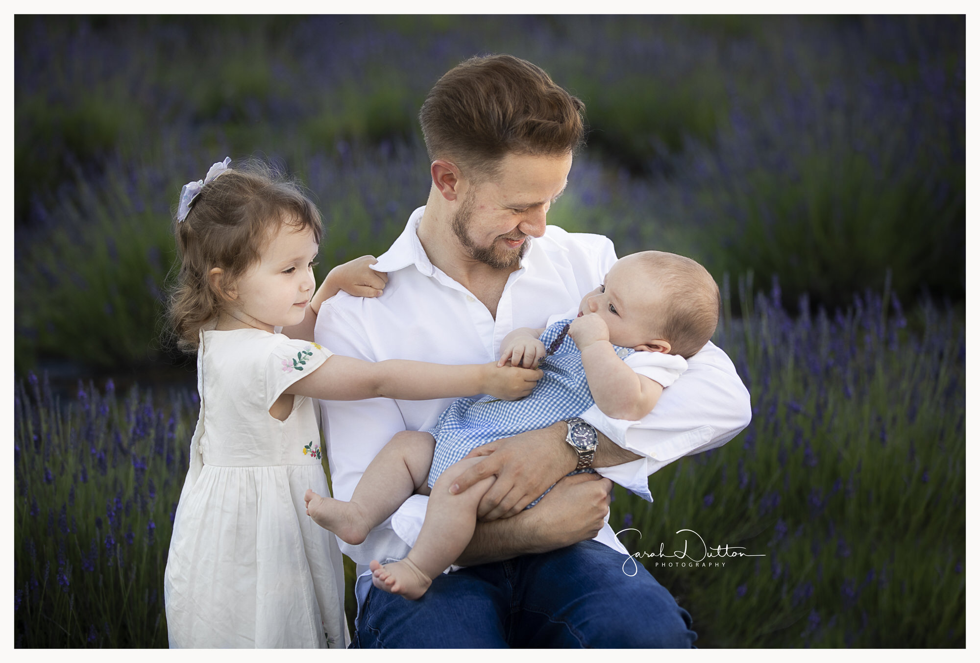 Family photography portrait taken outdoors in Whitchurch Hampshire