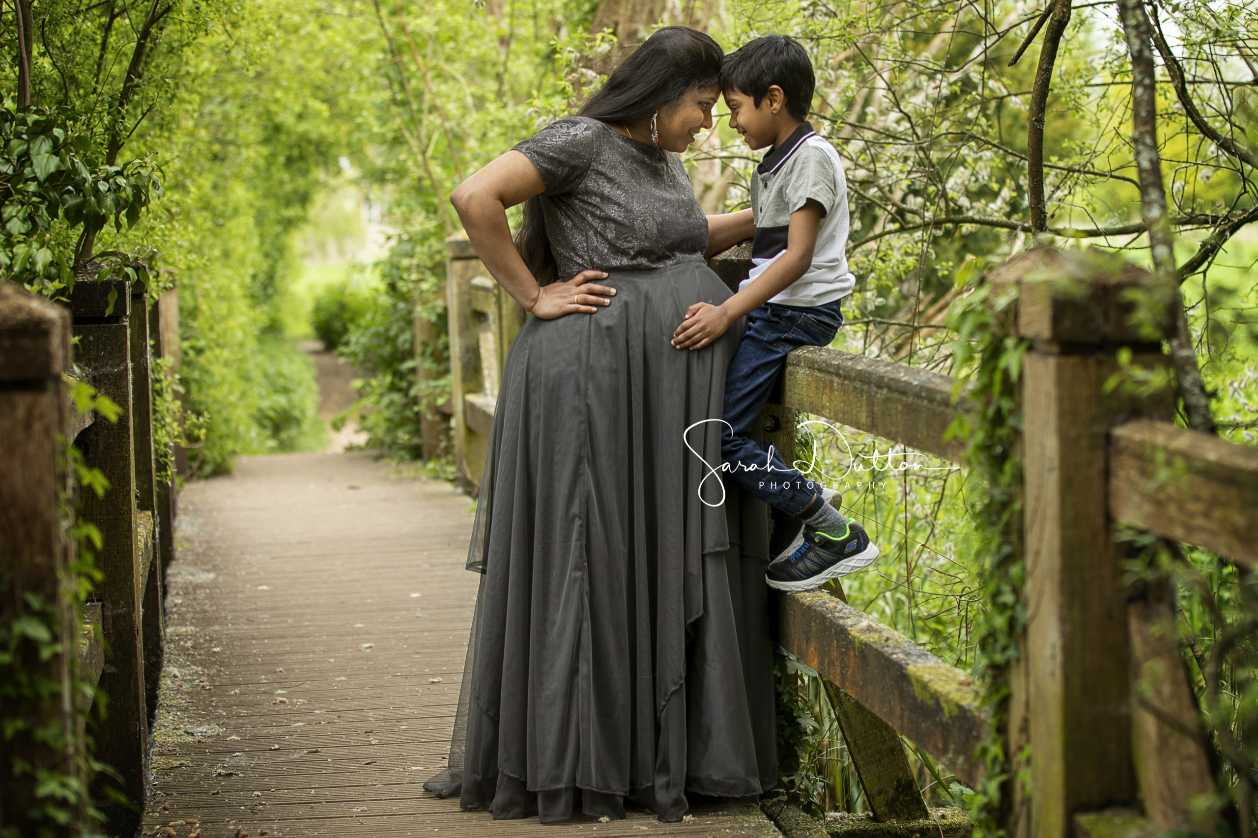 Maternity baby bump photography portrait taken in my studio in Whitchurch Hampshire